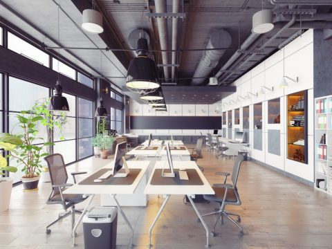 coworking spaces in San Francisco individual work desks and office supplies for members